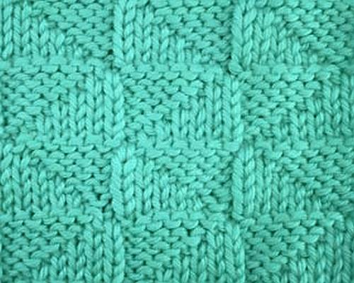 Easy Reversible Knitting Stitches : Knitting Galore: Saturday Stitch: Reversed Triangles