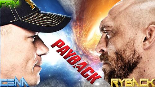 Wallpaper » John Cena vs Ryback - Payback 2013 HQ Wallpaper (Design By Priyadarshi Mahapatra)