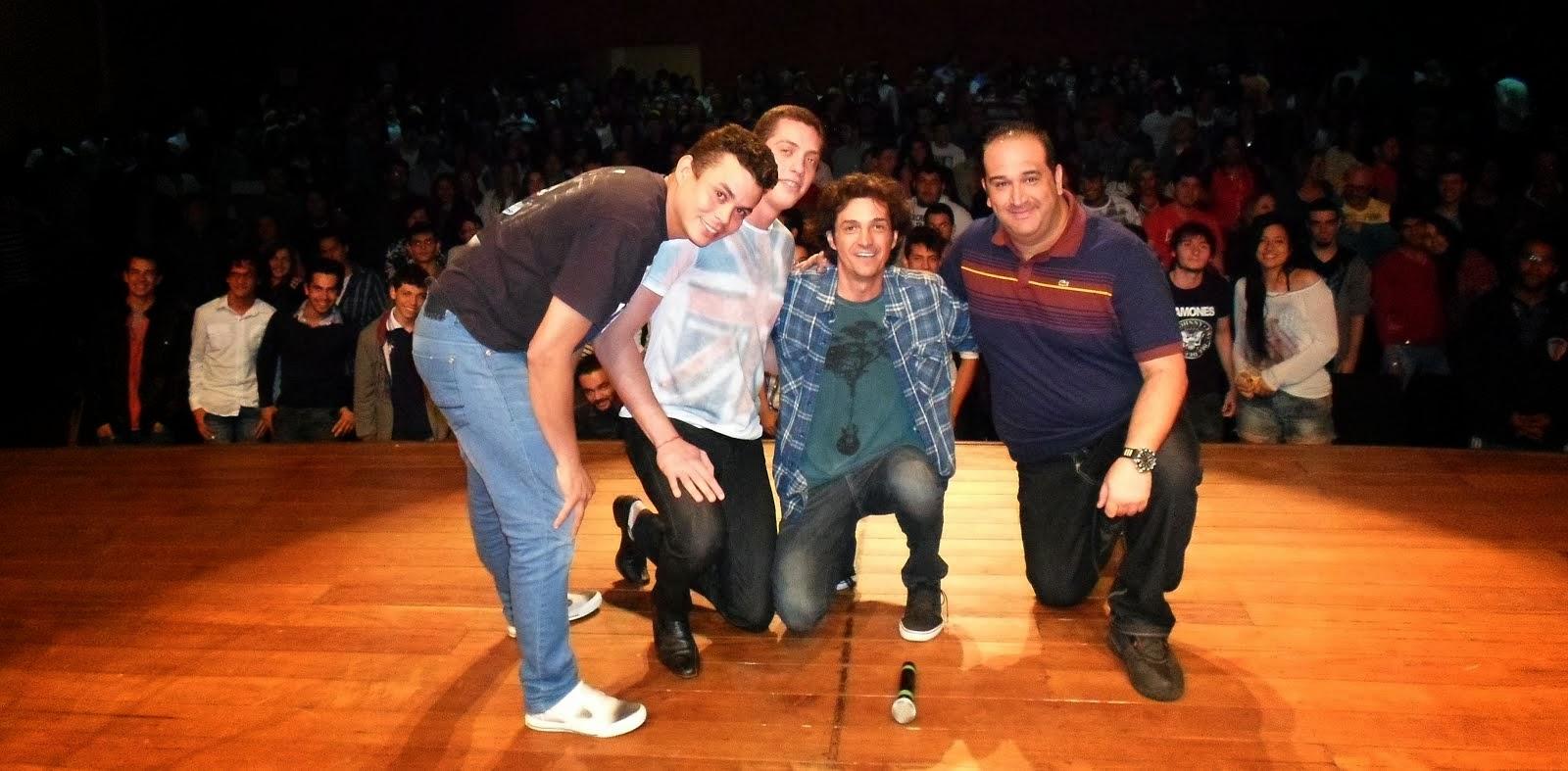 Com Emerson Ceará, Tito Pacolla e Renato Tortorelli