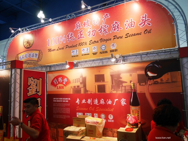 #2. LSH Sesame Oil Specialist (Booth 131 & 132)