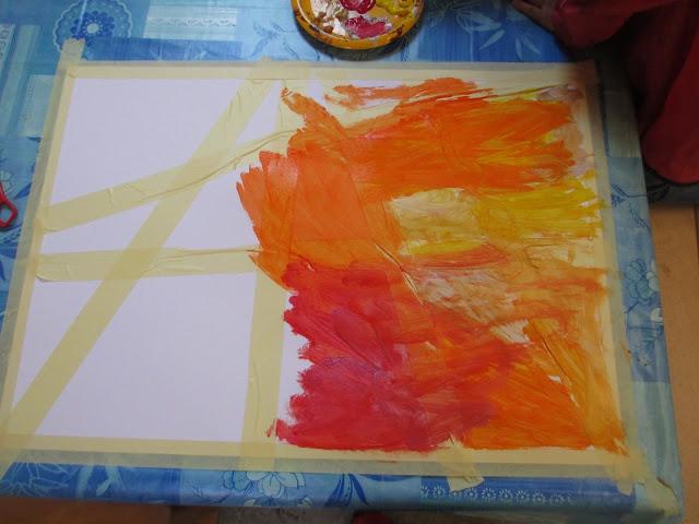 Zeichnen mit vierjährigen