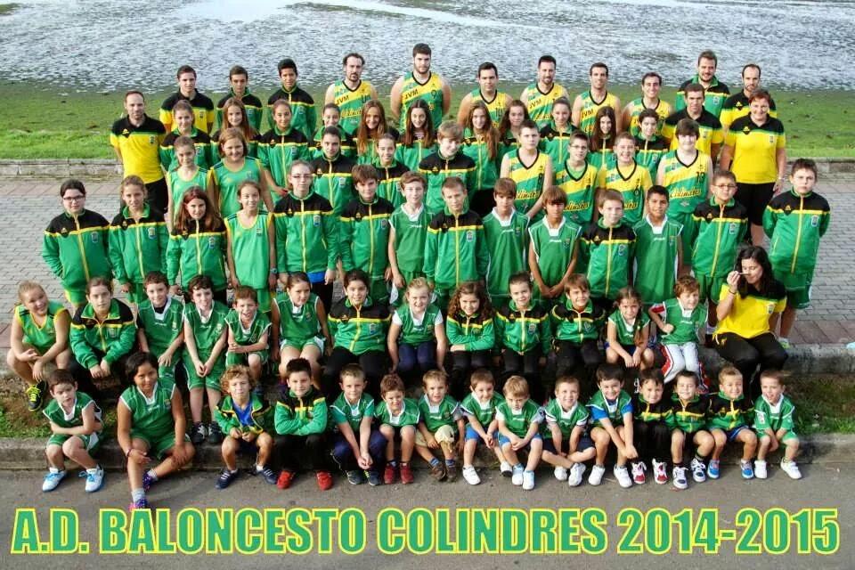 A.D. BALONCESTO COLINDRES 2014-2015