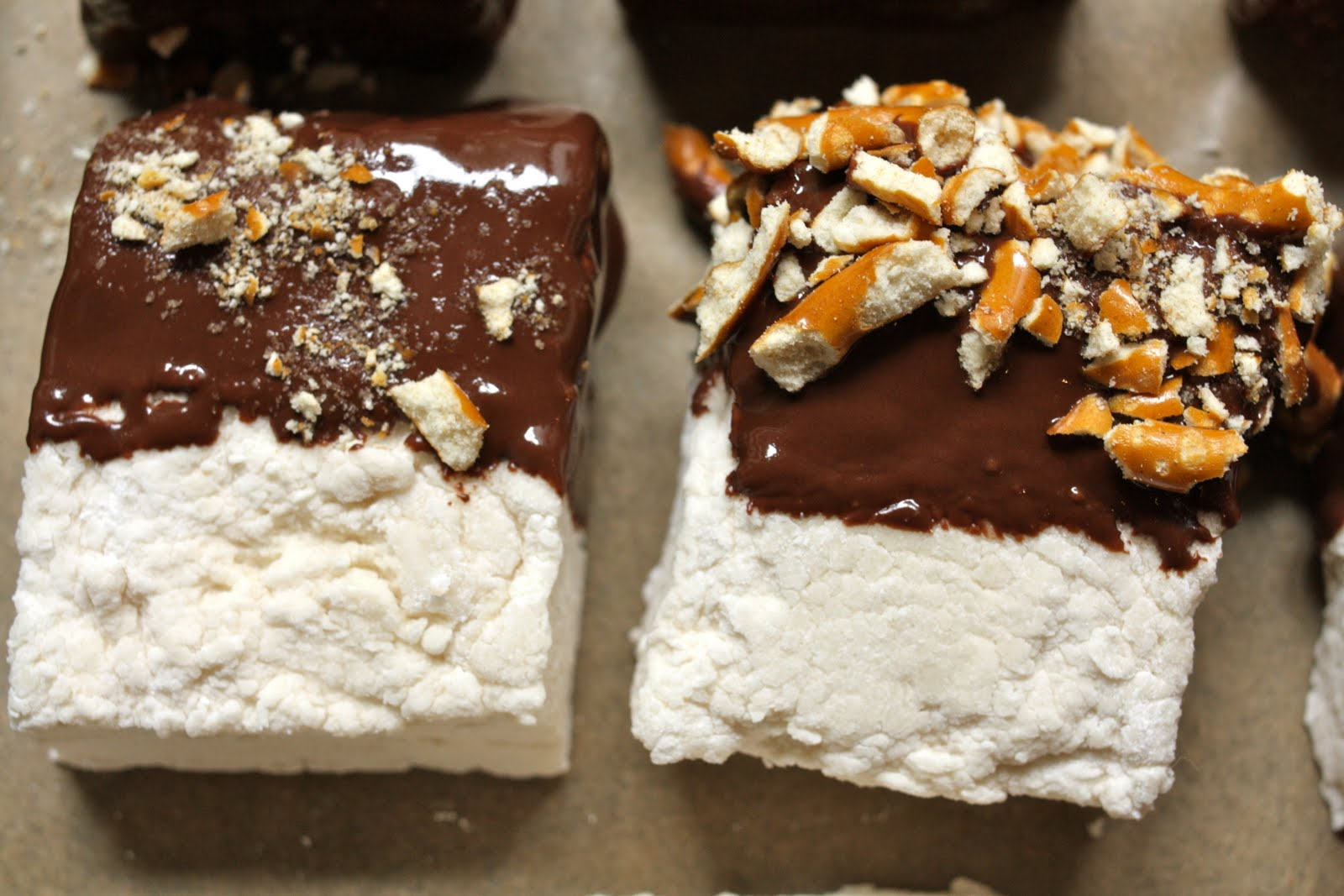 the traveling cupcake: Chocolate Covered Beer Marshmallows (with ...