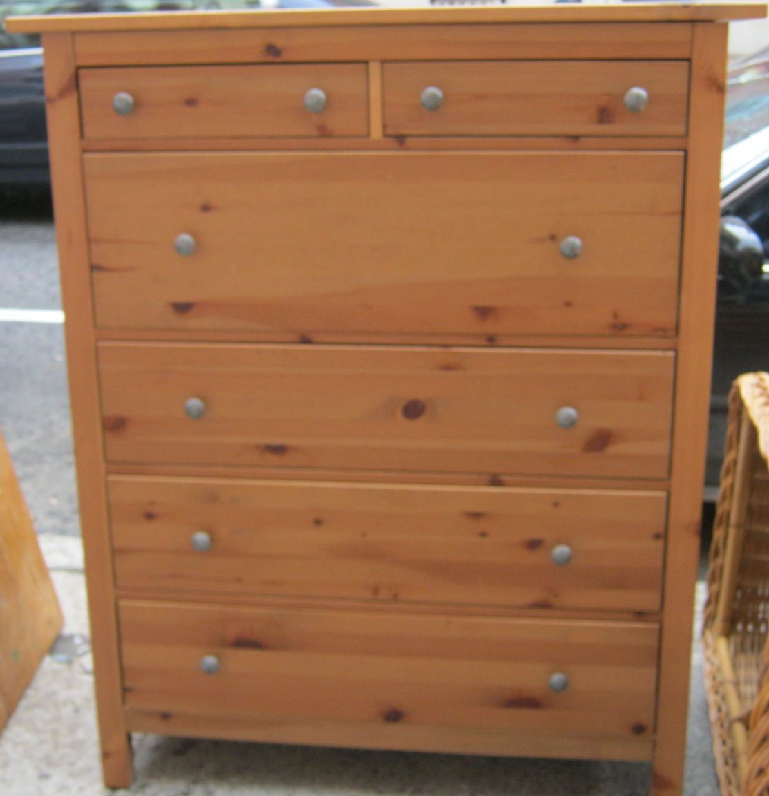 #915D3A Uhuru Furniture & Collectibles: Pine Hemnes Chest Of Drawers SOLD with 1113x1152 px of Best Hemnes Chest Of Drawers 11521113 image @ avoidforclosure.info