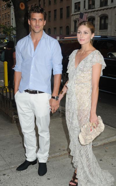 Johannes Huebl y Olivia Palermo looks