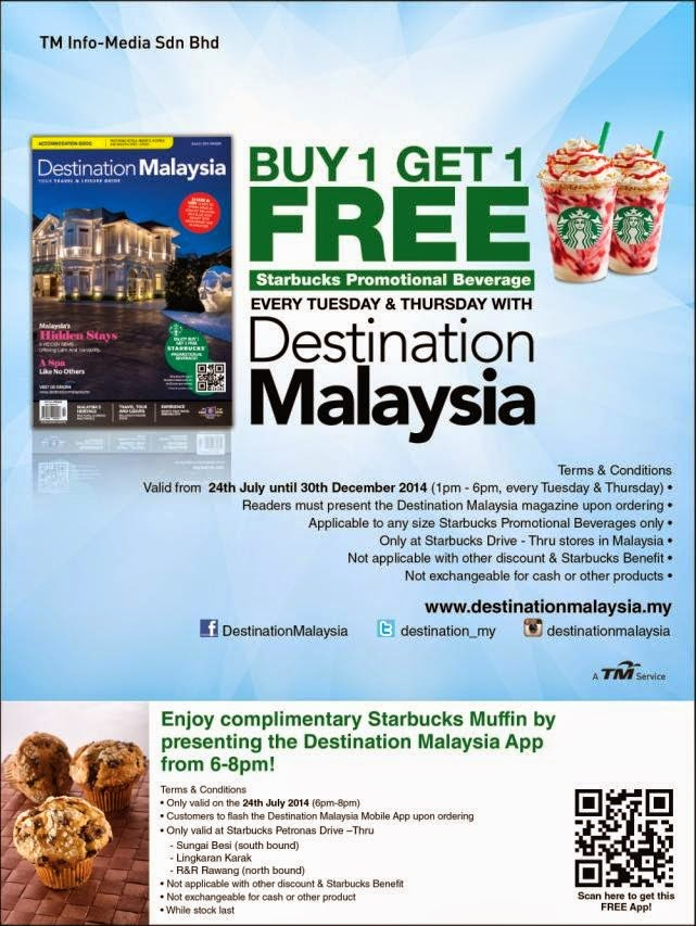 Destination Malaysia: Balik Kampung with Starbucks