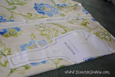 Waverize It Contest Jo-Ann Fabric & Crafts Waverly Fabric Sewing Challenge Reversible DIY Tote Bag Sew Craft Create