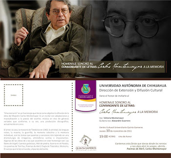 """""""A la memoria"""" en el CCU-Quinta Gameros"""