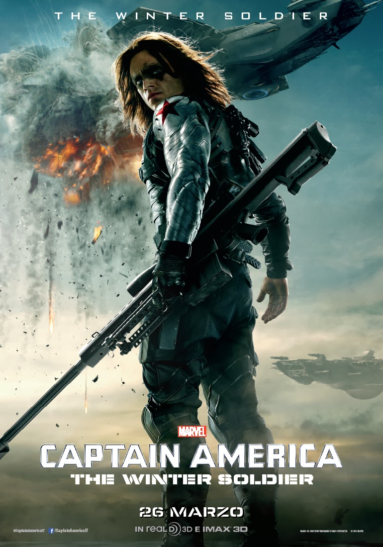 CAPTAIN AMERICA - THE WINTER SOLDIER, ANTEPRIMA GRATUITA GRAZIE A CARTOOMICS