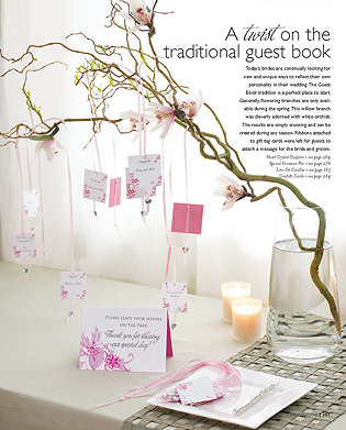 Wedding Idea Wishing Tree VS Guest Book