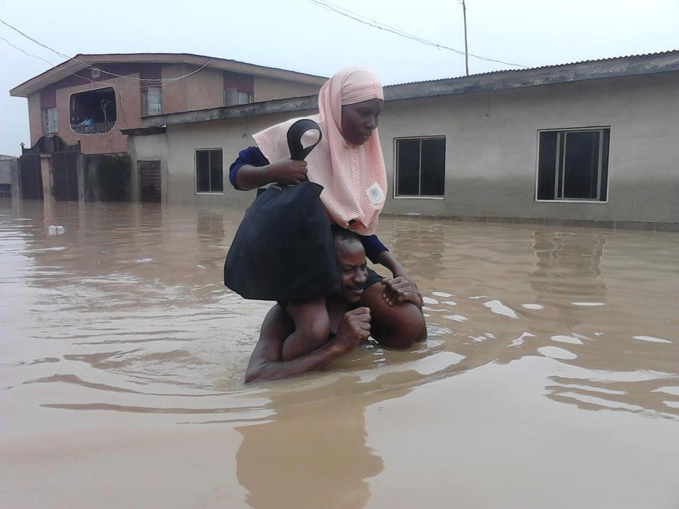 Image result for flood in nigeria
