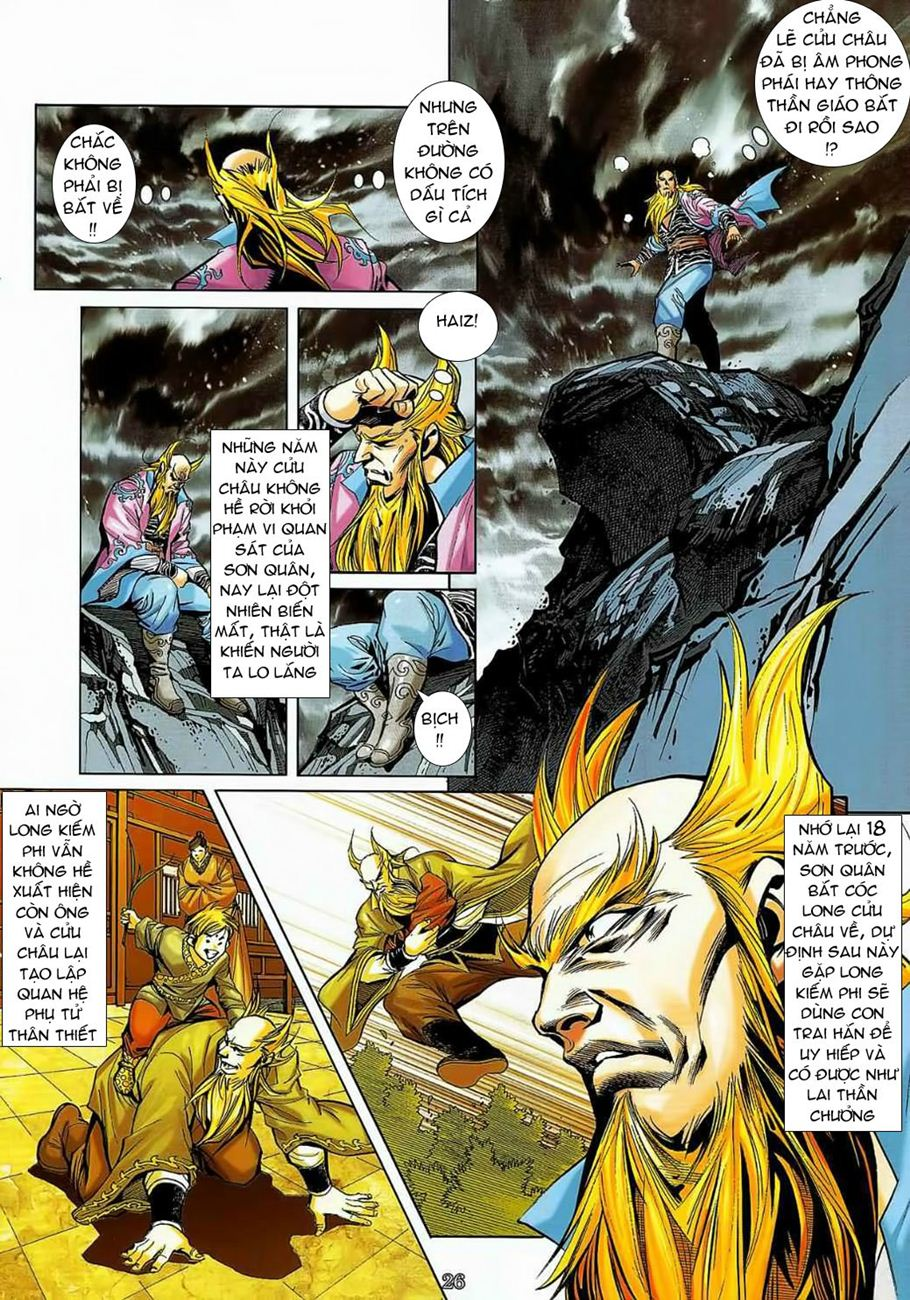 Thần Chưởng Long Cửu Châu chap 8 - Trang 26