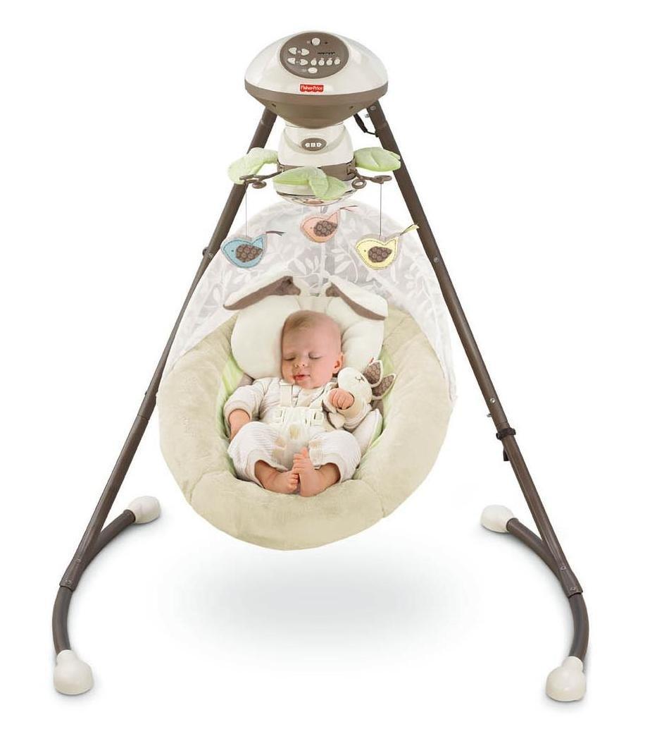 Fisher Price Cradle N Swingmy Little Snugabunny Foryoubaby848