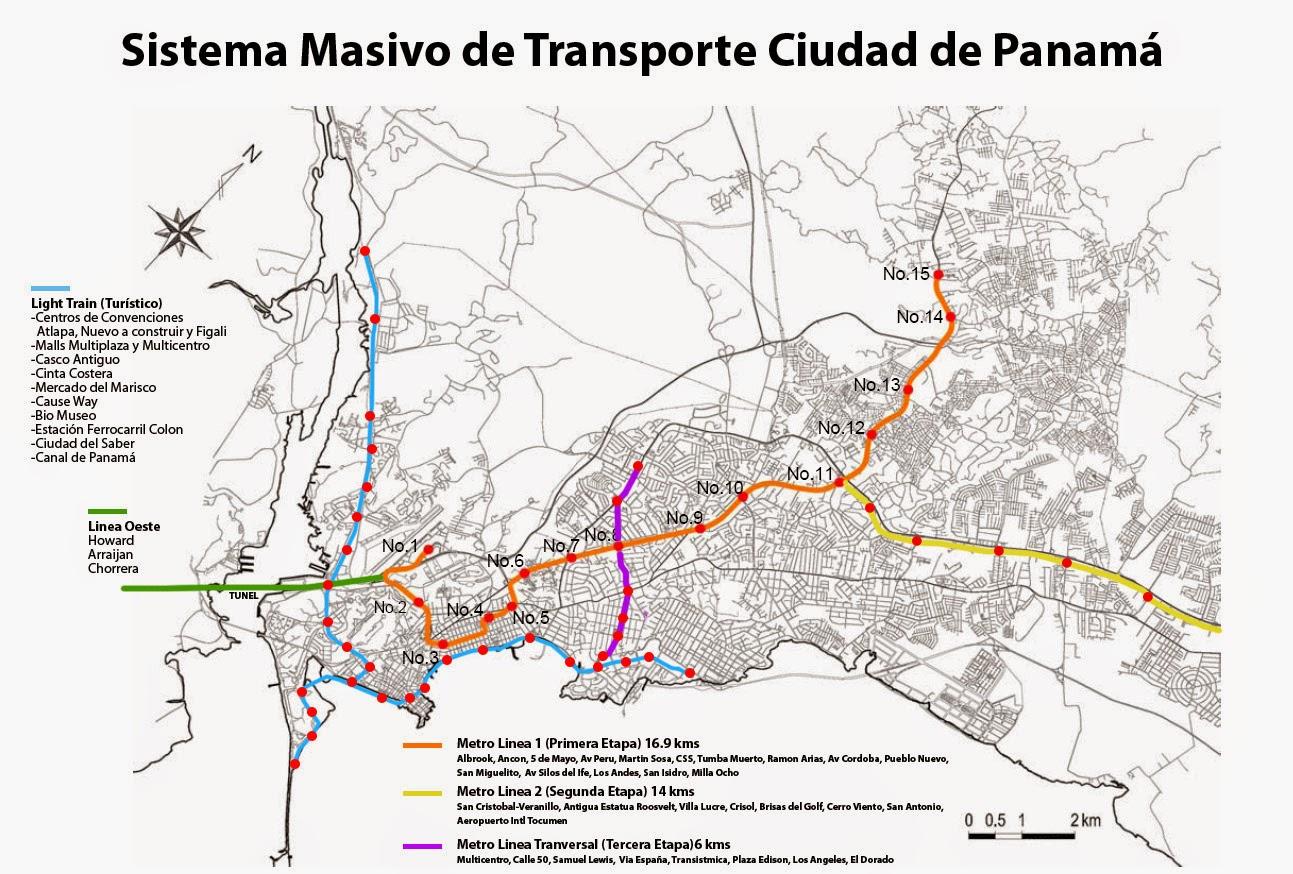 Metro Panamá: Mapa estaciones. Horario Sábados, Domingos. Hora último metro. Hasta que hora hay metro en Panamá. Líneas.
