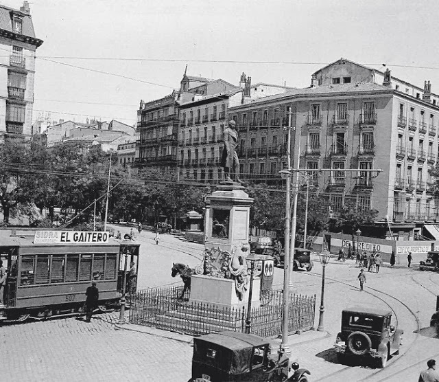 Glorieta de Bilbao, Madrid, 1920