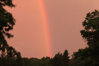 photo of Summer rainbow