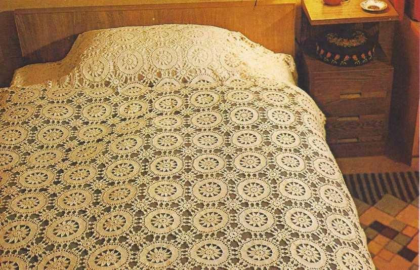 Sobrecama a Crochet