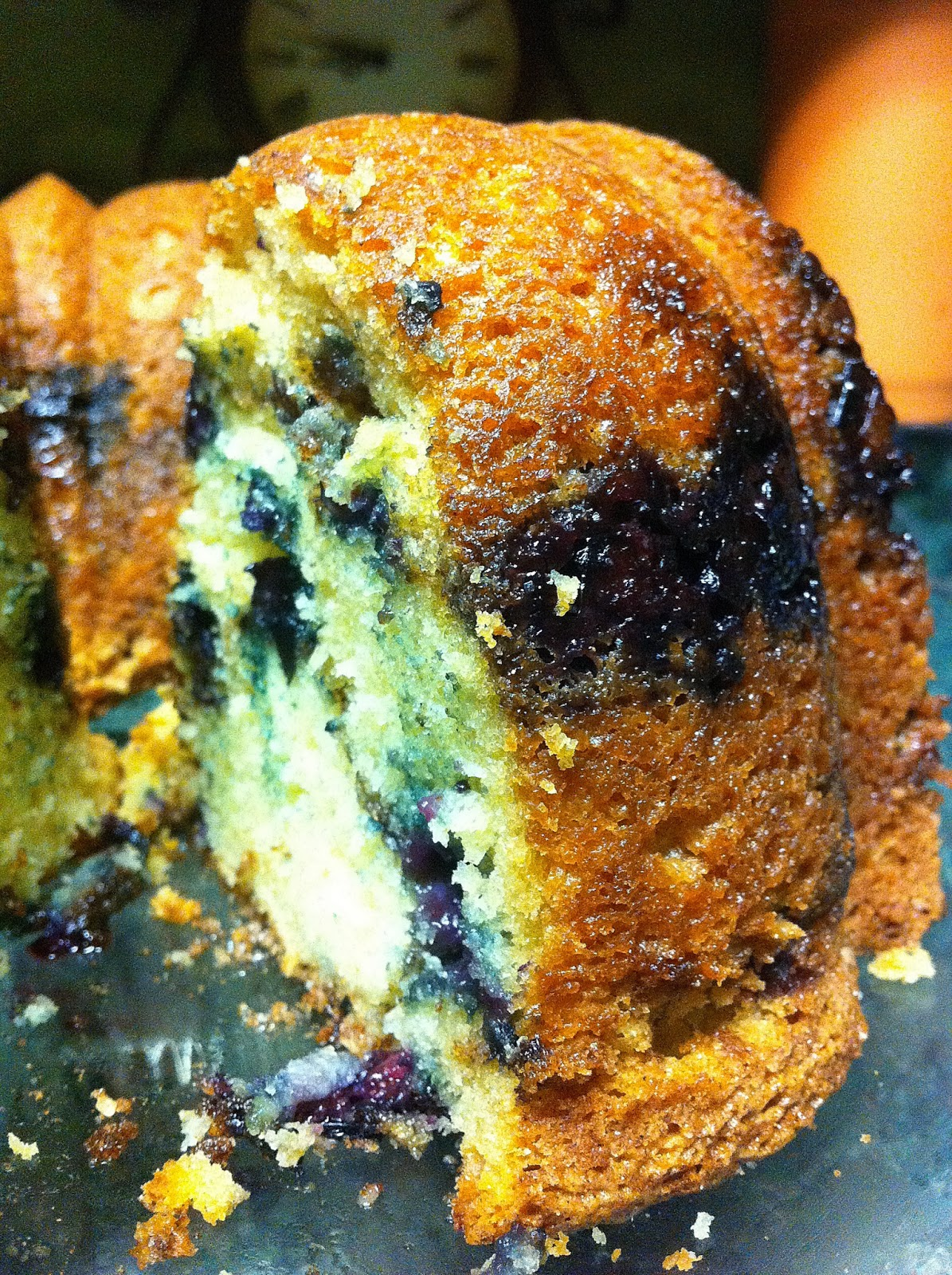 Blueberry Sour Cream Coffee Cake | Cook'n is Fun - Food Recipes ...