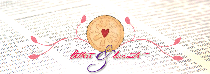 Of letters and biscuits
