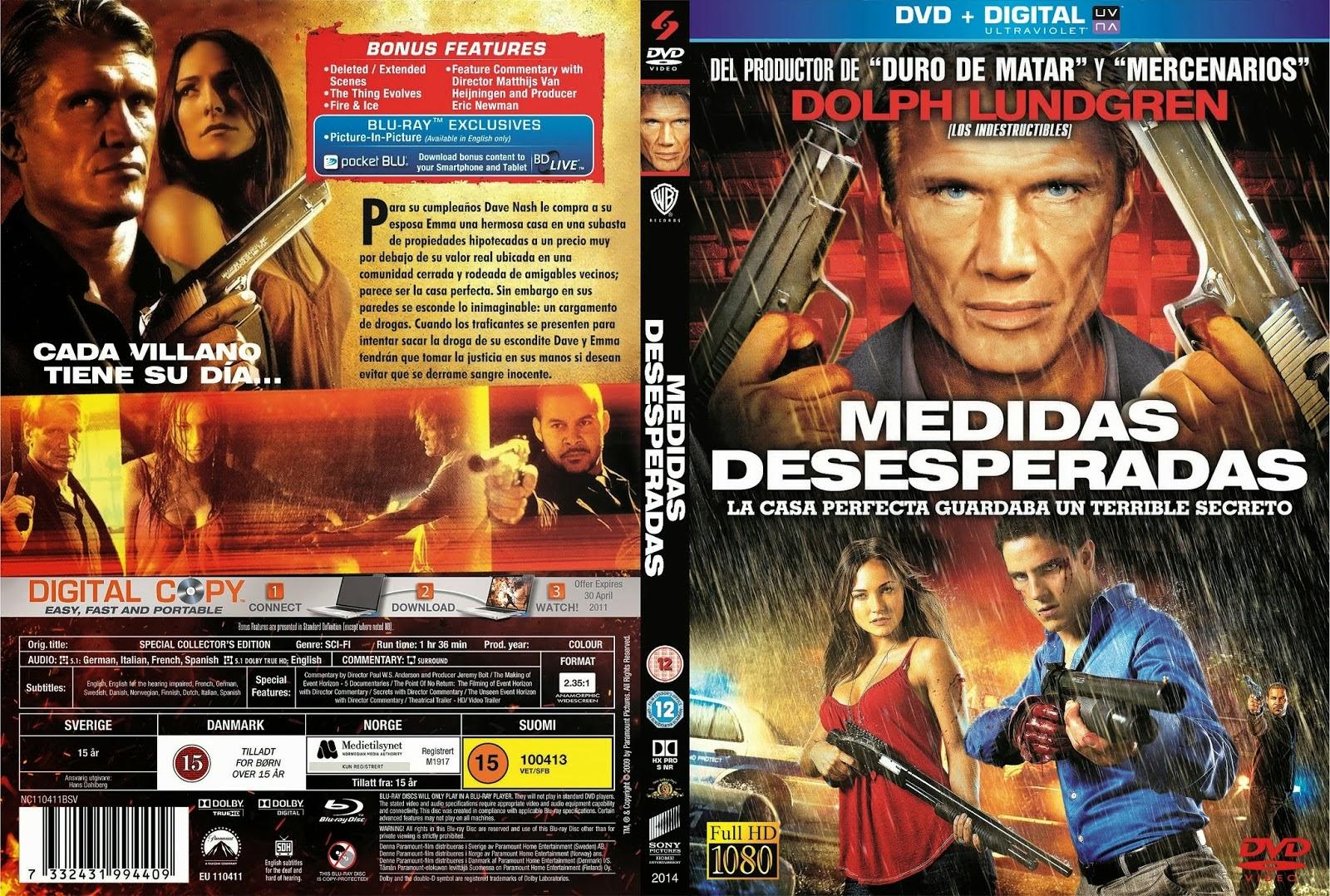 Dvd Medidas Medidas Desesperadas Dvd