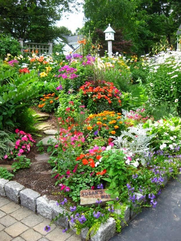 flowers gardens gardens and landscape
