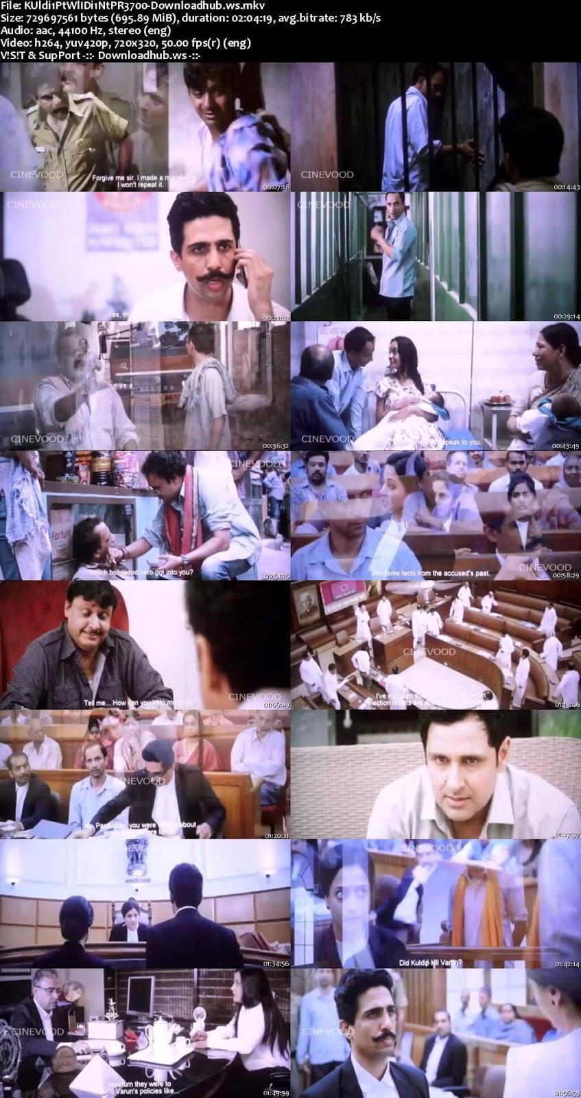Kuldip Patwal: I Didnt Do It! 2018 Hindi DVDSCR 350MB 700MB