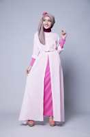 Modeling Baju Muslim Wanita Modern 2015