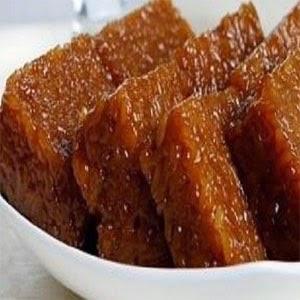 resep cara membuat wajik gula merah, wajik gula merah, resep kue jawa, masakan jawa