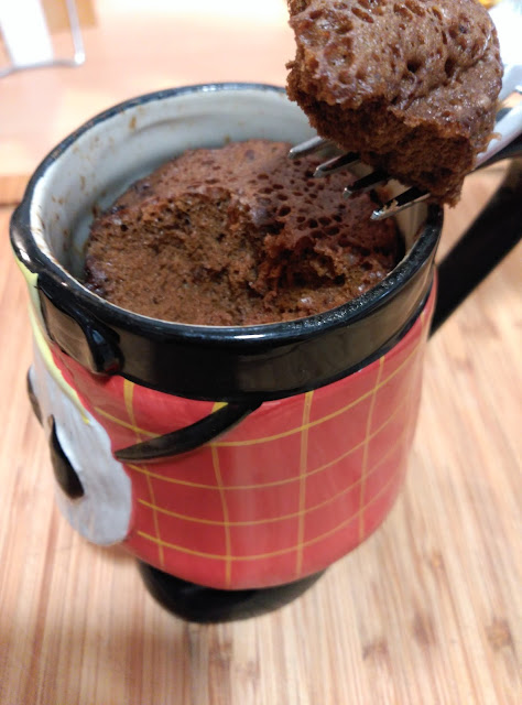 Mug Cake: Whiskey In The Jar