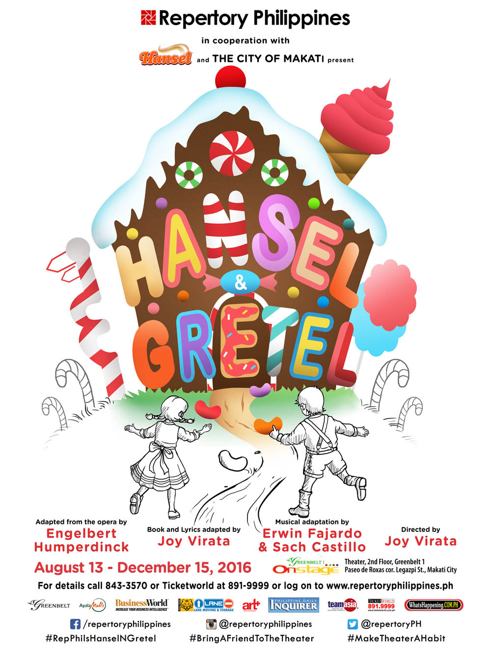Hansel & Gretel - Presented by Repertory Philippines
