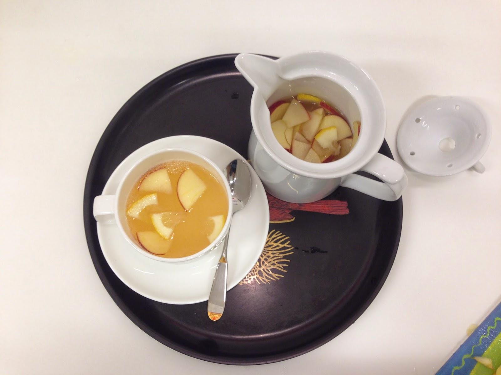 ... Dough: 7th Weekend - Beautiful Mess - Apple Lemon Tea in Korean Style