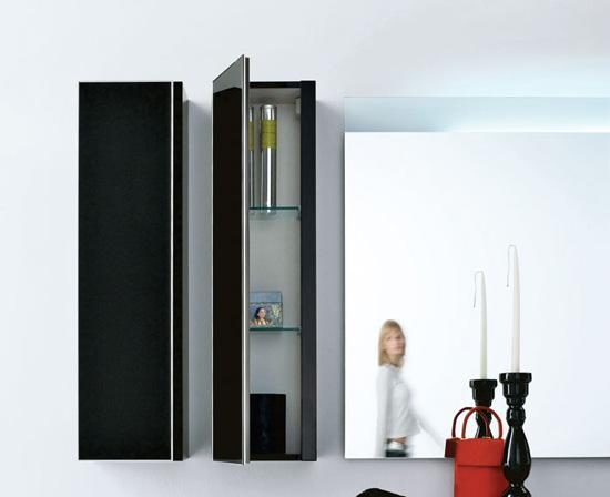 Dise os de ba os y accesorios en colores negro y azul for Accesorios bano colores