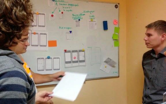 Proceso de prototipado UI/UX de aplicaciones m�viles