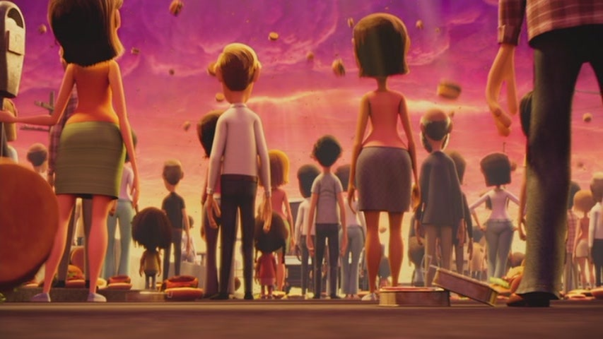 Animated Film Reviews Cloudy with a Chance of Meatballs 2009