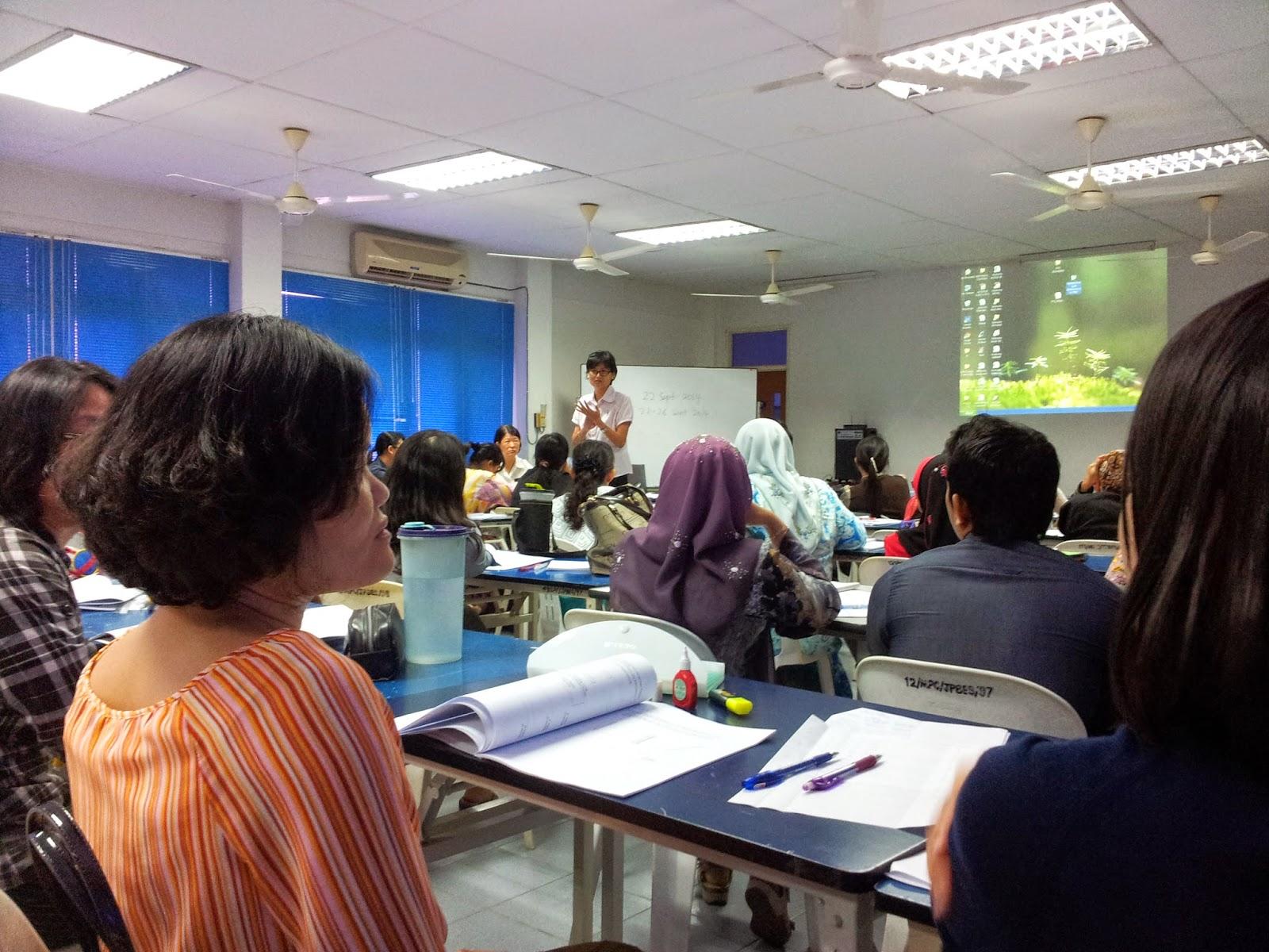 Kursus Pemasangan Instrumen dan Pemeriksaan Skrip Jawapan PT3 Sains Zon Sibu