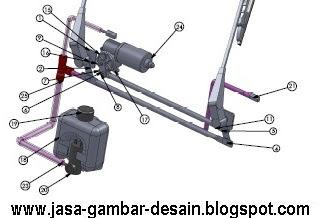 Jasa Desain 3D Assembling Part