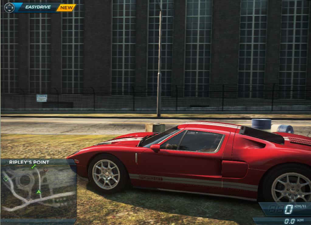 Ford Gt Location In Need For Speed Most Wanted Nfsmw