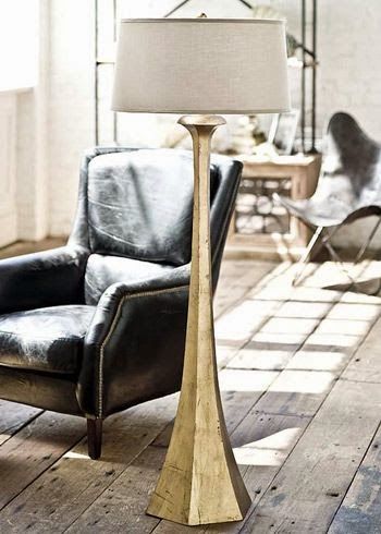 gorgeous gold floor lamp