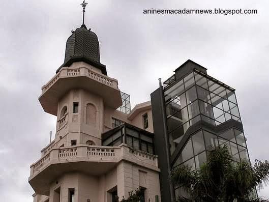 Torre de ascensor del Castillo de Villa del Parque