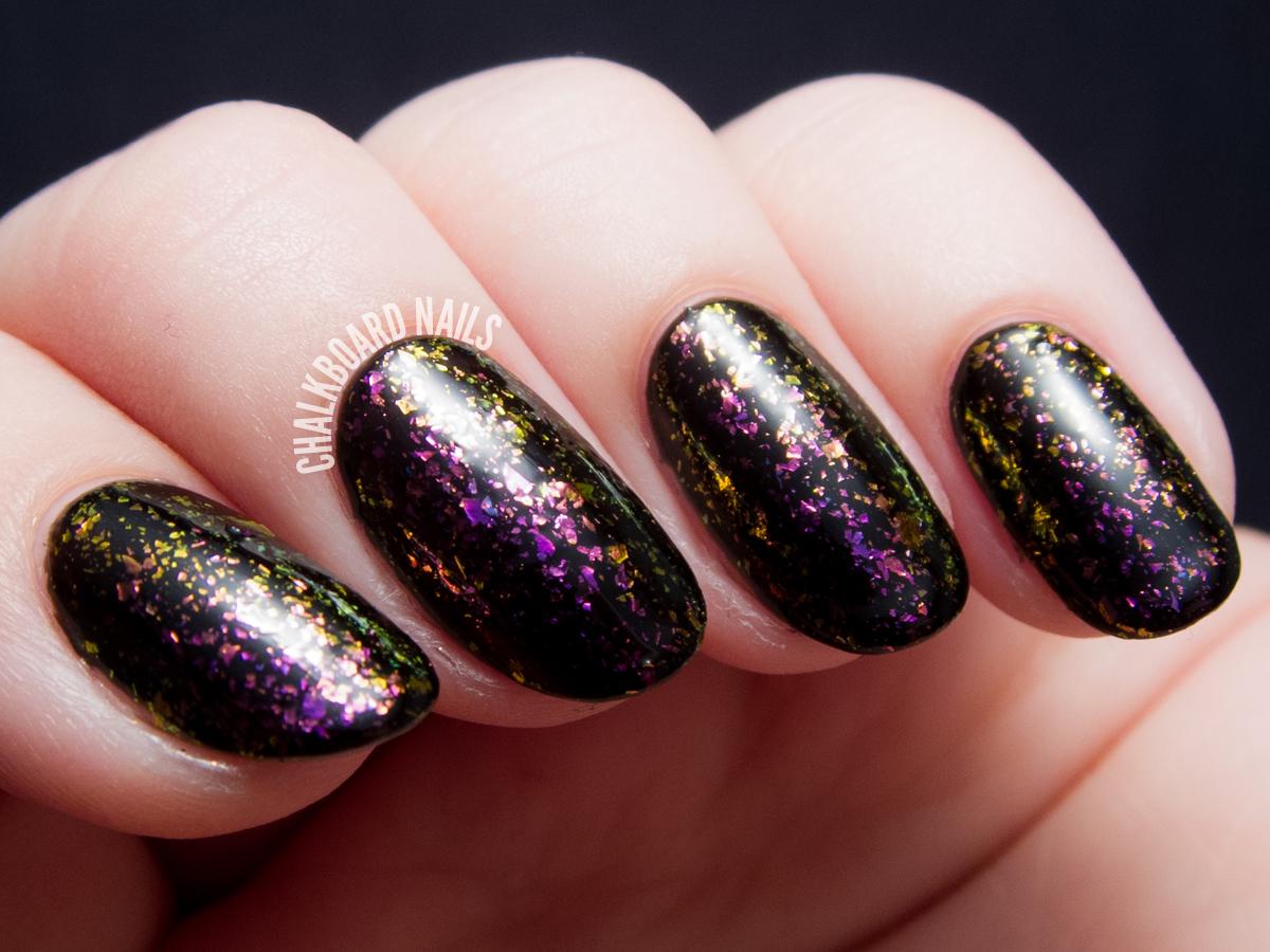 I Love Nail Polish - Neon Rosebud via @chalkboardnails
