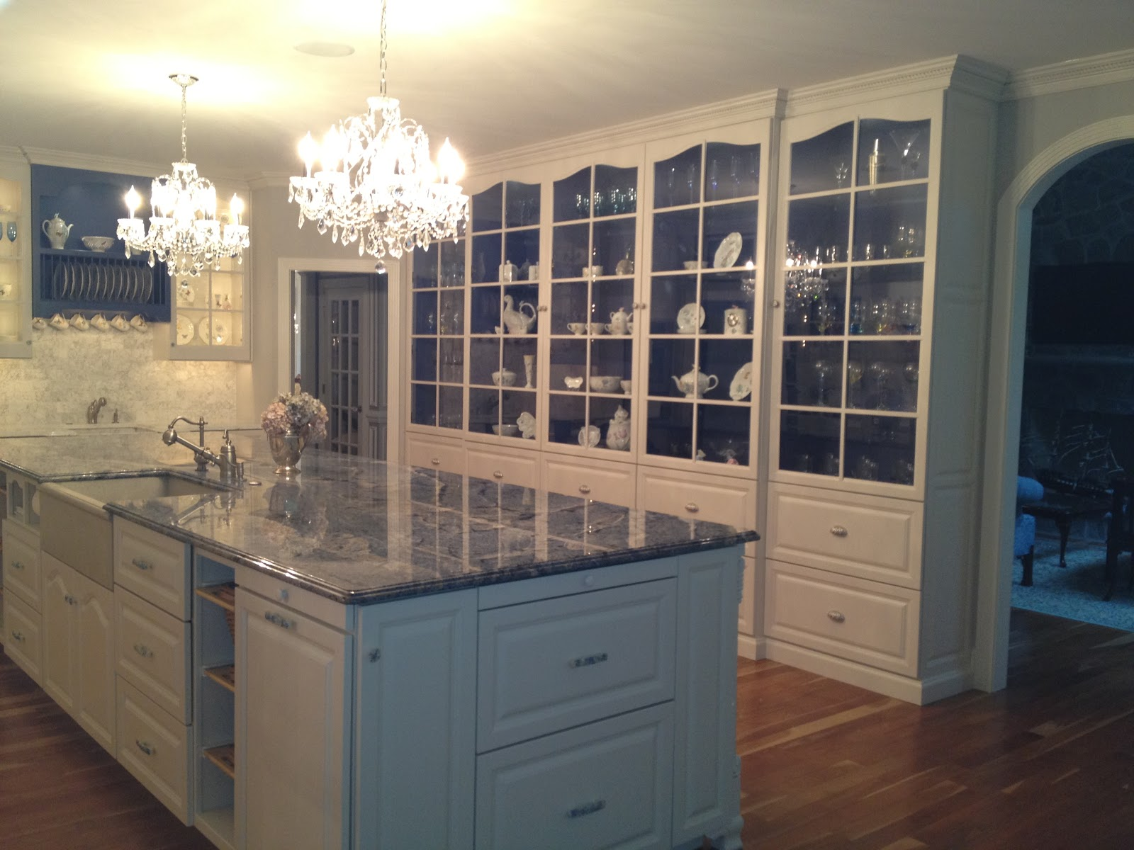 DIY Kitchen China Cabinet
