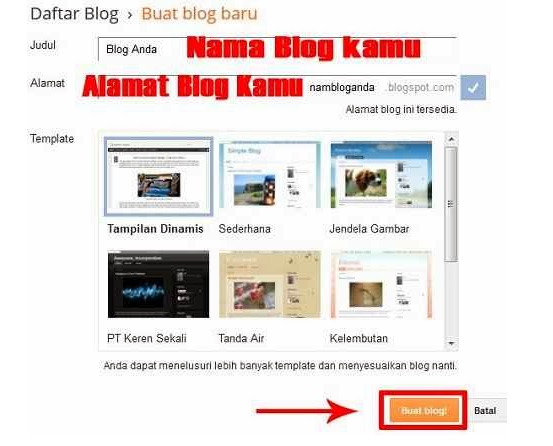 Cara Membuat website atau Blog Gratis Dengan Mudah dan Cepat