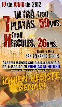 ULTRA TRAIL SOLIDARIA 7 PLAYAS (50KMS) Y TRAIL SOLIDARIA HÉRCULES (26KMS)