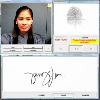 Comelec biometrics data