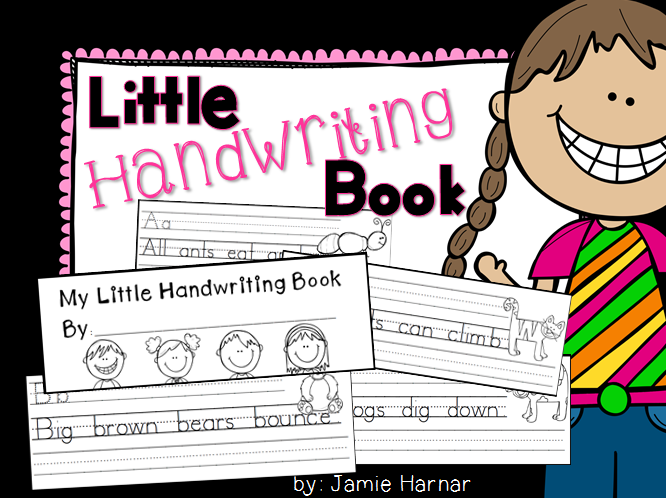 https://www.teacherspayteachers.com/Product/Little-Book-of-Handwriting-A-to-Z-1757484
