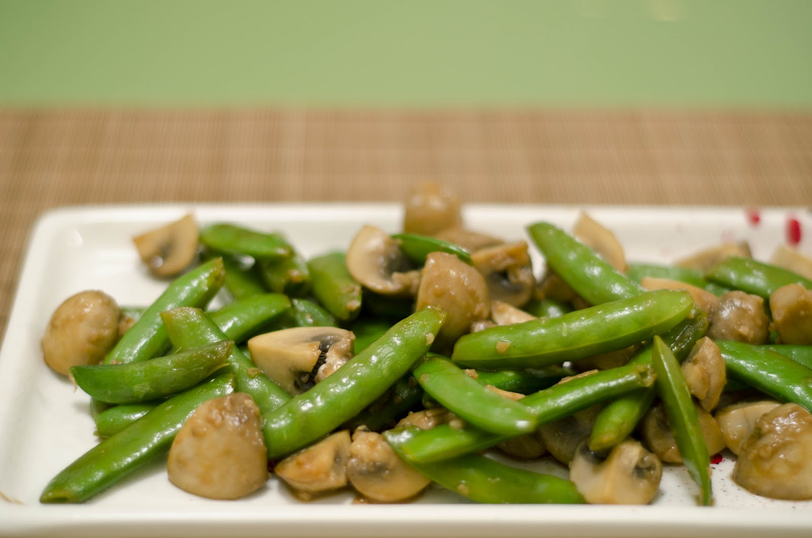 how to cook snap peas in microwave