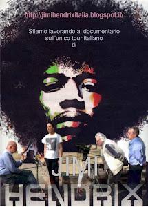 Stiamo lavorando al documentario sull'unico tour italiano di Jimi Hendrix