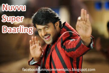 Prabhas Comment Pics for Facebook Telugu