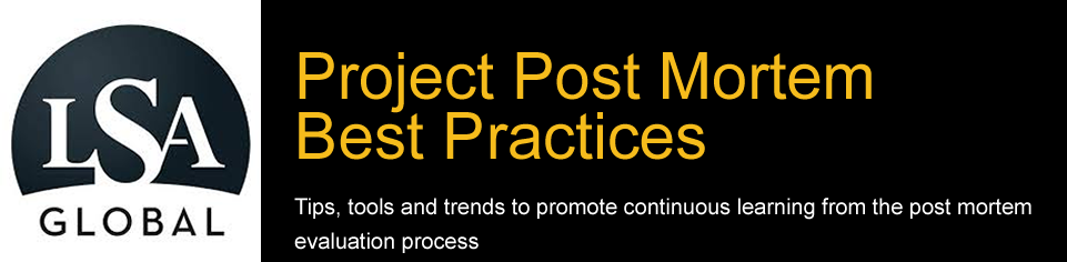 Project Post Mortem Best Practices Blog