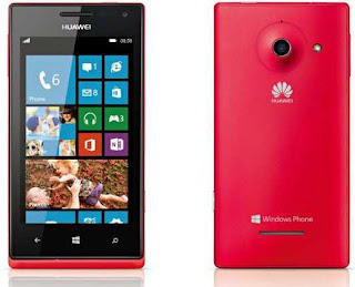 Newest smartphone on runs on windows 8 Huawei Ascend W1